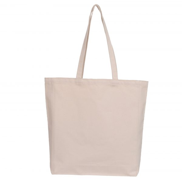 Natural Canvas Bag - Heavy Weight 16oz 370gsm 380x450x100mm