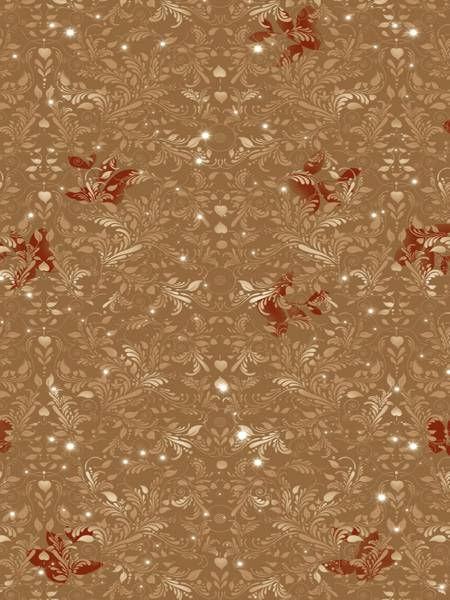 Enchanted Champagne Wrapping Paper