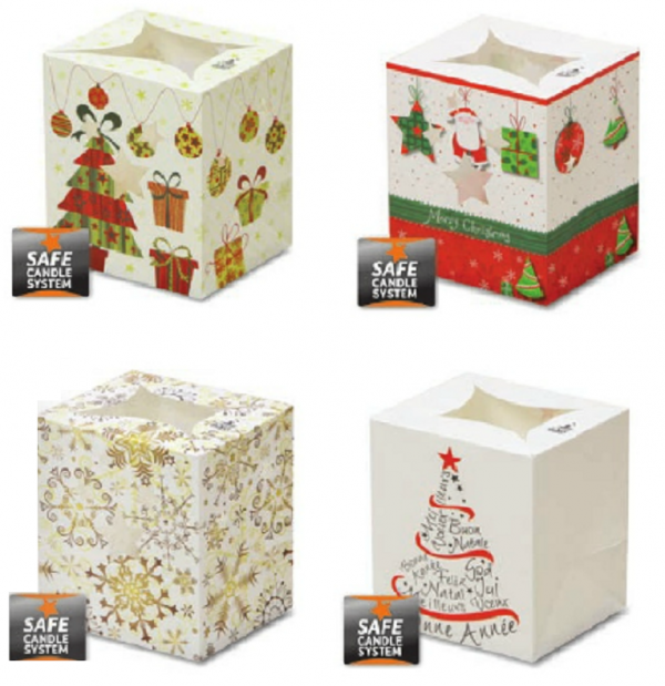 Christmas Luminary Candle Bags (Set 5 - Pack of 4)