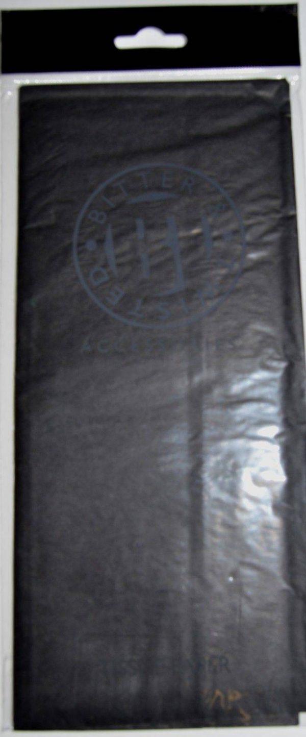 Black Chinese Paper Lantern - 16 Inch