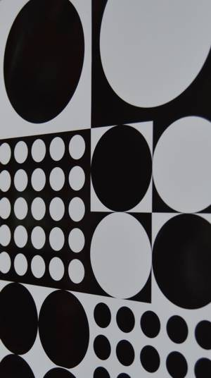 Black Circle Wrapping Paper