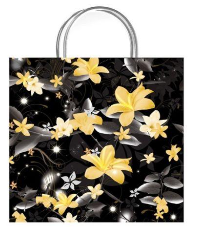 Paradise Black Luxury Gift Bag - Size Small