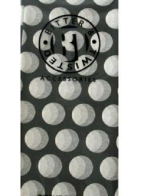 Black Polka Dot Tissue Paper