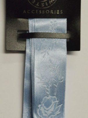 Blue Jacquard Ribbon