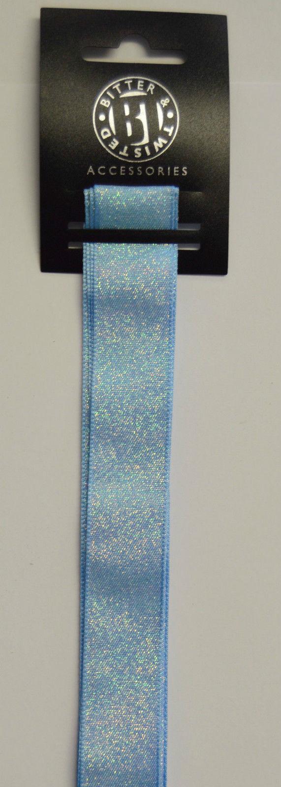 Blue Shimmer Ribbon