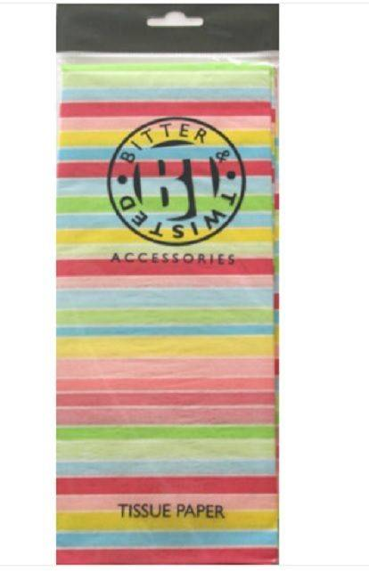 Bright Stripe Tissue Paper