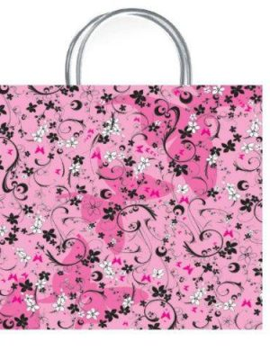 Chic Pink Luxury Gift Bag - Size Medium