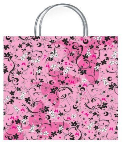 Chic Pink Luxury Gift Bag - Size Medium