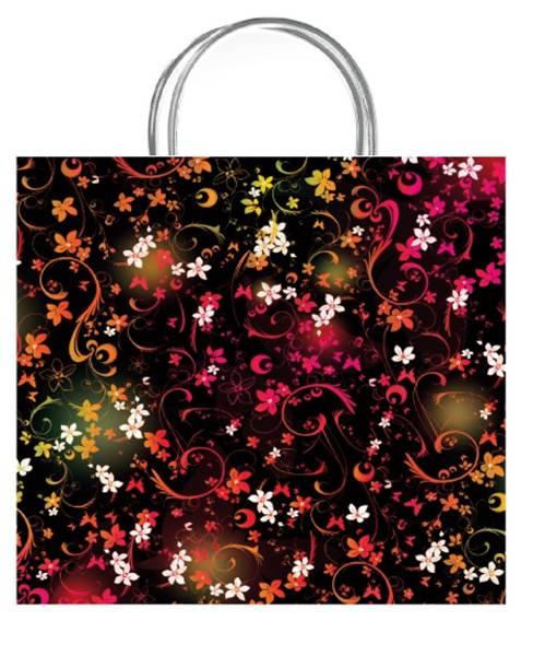 Chic Vivid Luxury Gift Bag Size Medium The Paper Bag Store