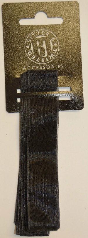 Chiffons Black Ribbon