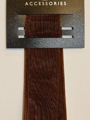 Chiffon Brown Ribbon