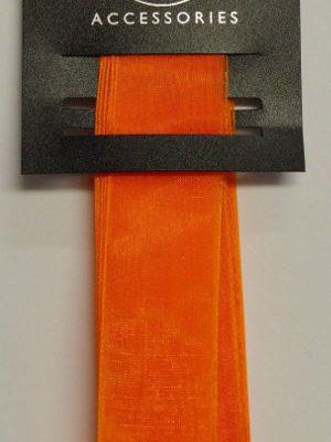 Chiffon Orange Ribbon