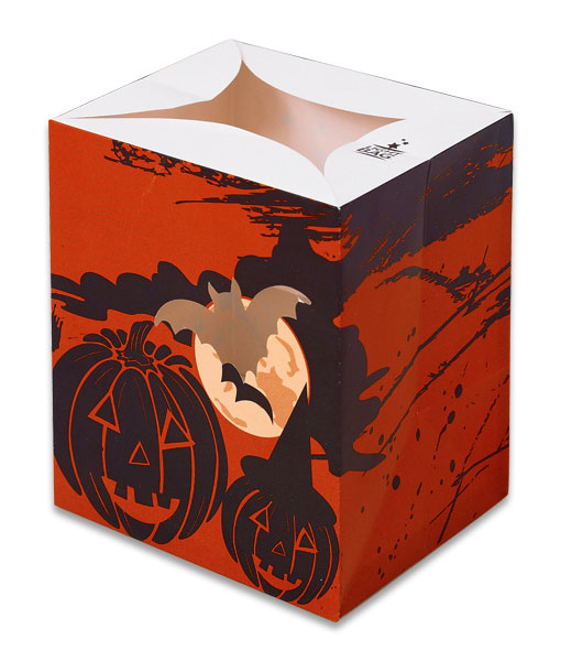 Red Halloween Luminary Candle Bags - Halloween Edition