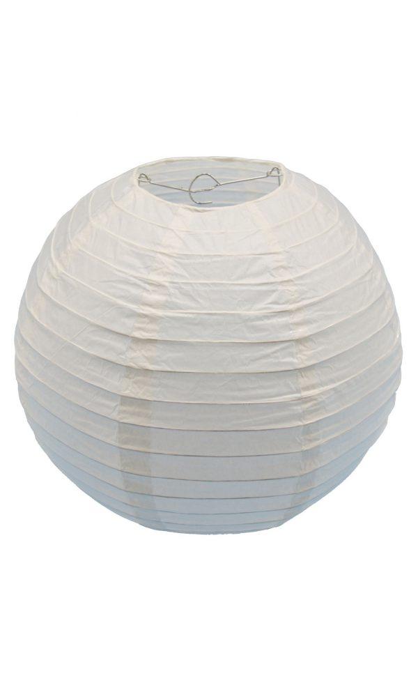 Ivory Chinese Paper Lantern - 12 Inch