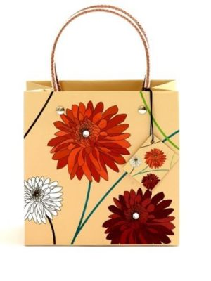 Small Dahlia Natural Luxury High Quality Bag