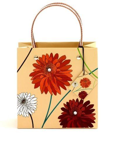 Small Dahlia Natural Luxury High Quality Bag