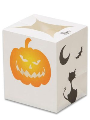 Black Cat / Pumpkin Halloween Luminary Candle Bags - Halloween Edition