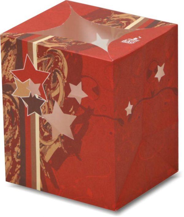 Christmas Celebration Stars Luminary Candle Bags - Christmas Edition
