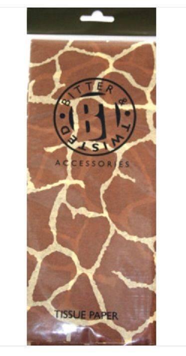 Giraffe Tissue Paper