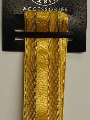Gold Luxury Band Ribbon