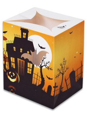 Haunted Castle Halloween Luminary Candle Bags - Halloween Edition