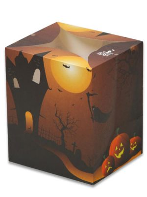 Haunted House Halloween Luminary Candle Bags - Halloween Edition
