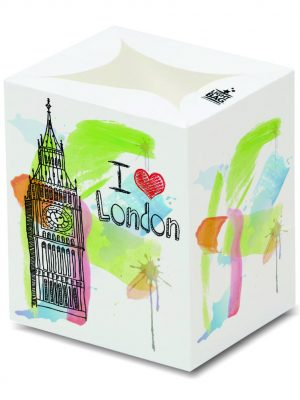 I Love London (Big Ben) Luminary Candle Bags - Souvenir Edition