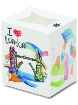 I Love London (Tower Bridge) Luminary Candle Bags - Souvenir Edition