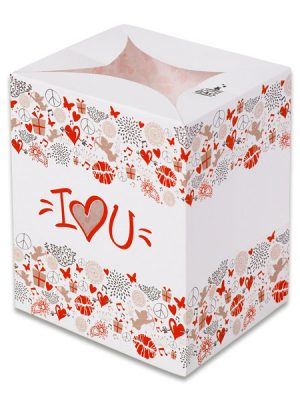 I Love You Luminary Candle Bags - Love Edition