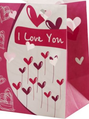 I Love You Candle Luminary Candle Bags - Love Edition