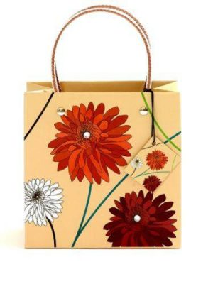 Dahlia Natural Luxury Gift Bag - Size Medium