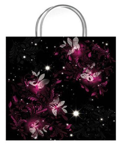 Paradise Black Luxury Gift Bag - Size Medium