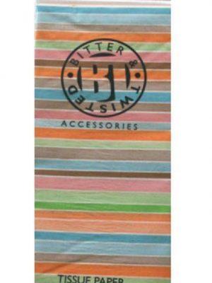 Pastel Stripe Tissue Paper