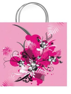 Beau Pink Luxury Gift Bag - Size Medium