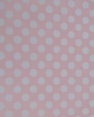 Polka Dot Pink Wrapping Paper