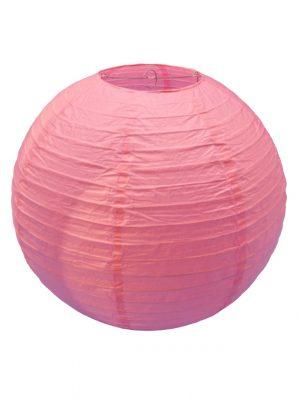 Pink Chinese Paper Lantern - 16 Inch