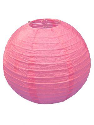 Pink Chinese Paper Lantern - 12 Inch