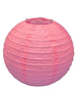 Pink Chinese Paper Lantern - 8 Inch