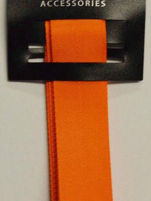 Poly Twill Orange Ribbon