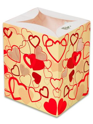 Pink Hearts Luminary Candle Bags - Love Edition