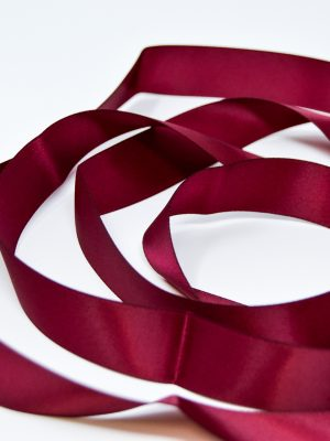 Satin Wine Ribbon