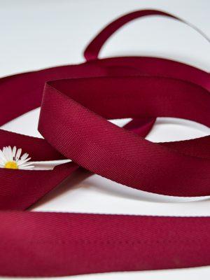 Poly Twill Wine Ribbon