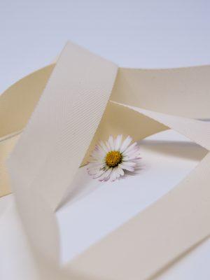 Poly Twill Ivory Ribbon