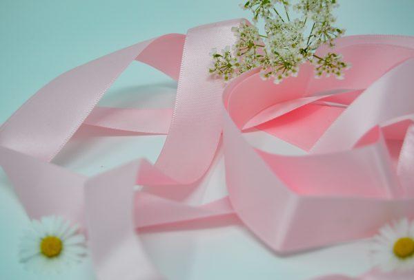 Satin Baby Pink Ribbon