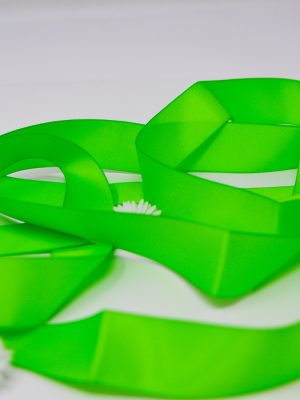 Satin Spring Green Ribbon