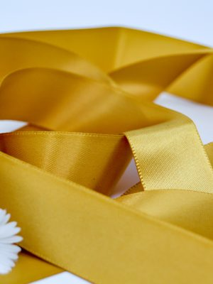 Satin Gold Ribbon