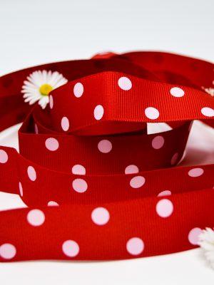 Red Polka Dot Ribbon