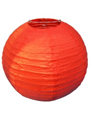 Red Chinese Lantern - 12 Inch