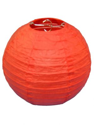 Red Chinese Lantern - 8 Inch