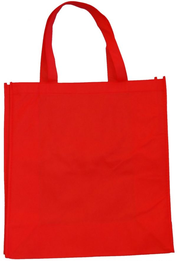 370mm Red Non Woven PP Bags